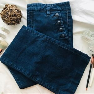 Tommy Hilfiger Sailer Wide Leg Jeans (Size 8)
